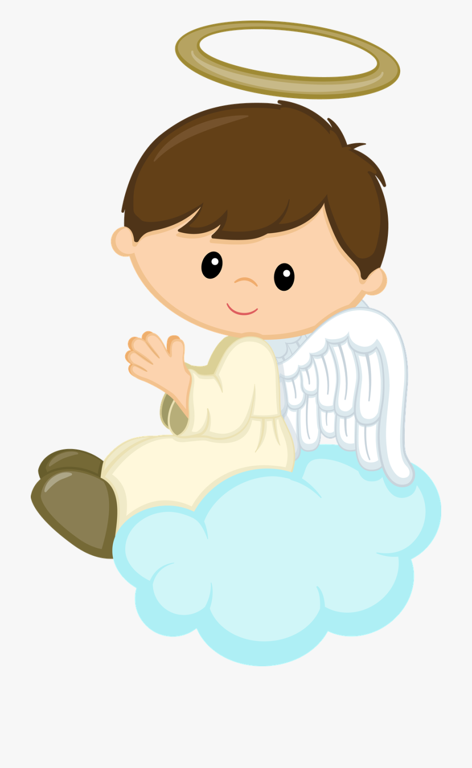Baby Boy Angel Clipart.
