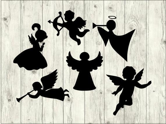Angel SVG Bundle, Disney SVG Bundle, Angel cut file, Angel clipart, Angel  svg files for silhouette, Angel files for cricut, svg, dxf, eps.