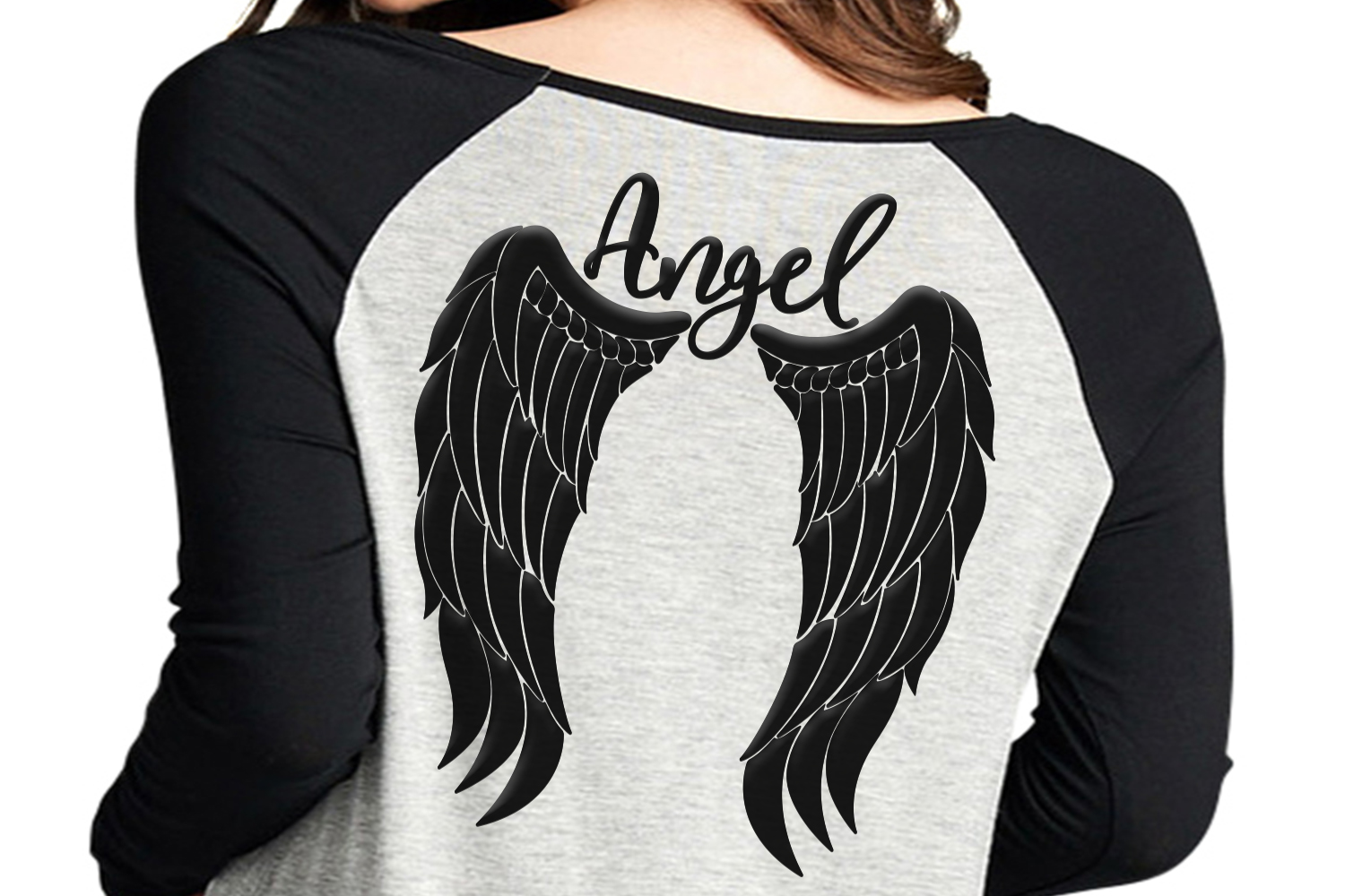 Angel wings svg, angel svg, feather wings svg, angel jpg, angel wings shirt  design, angel clipart, wings svg, dxf, png, cricut file,clip art.