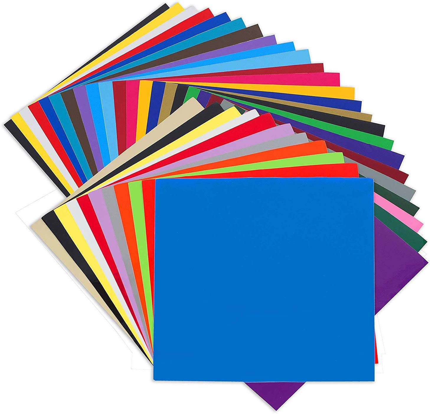 Angel Crafts Adhesive Vinyl Sheets: Permanent Vinyl for Cricut, Silhouette  Cameo, Oracal Cutters.