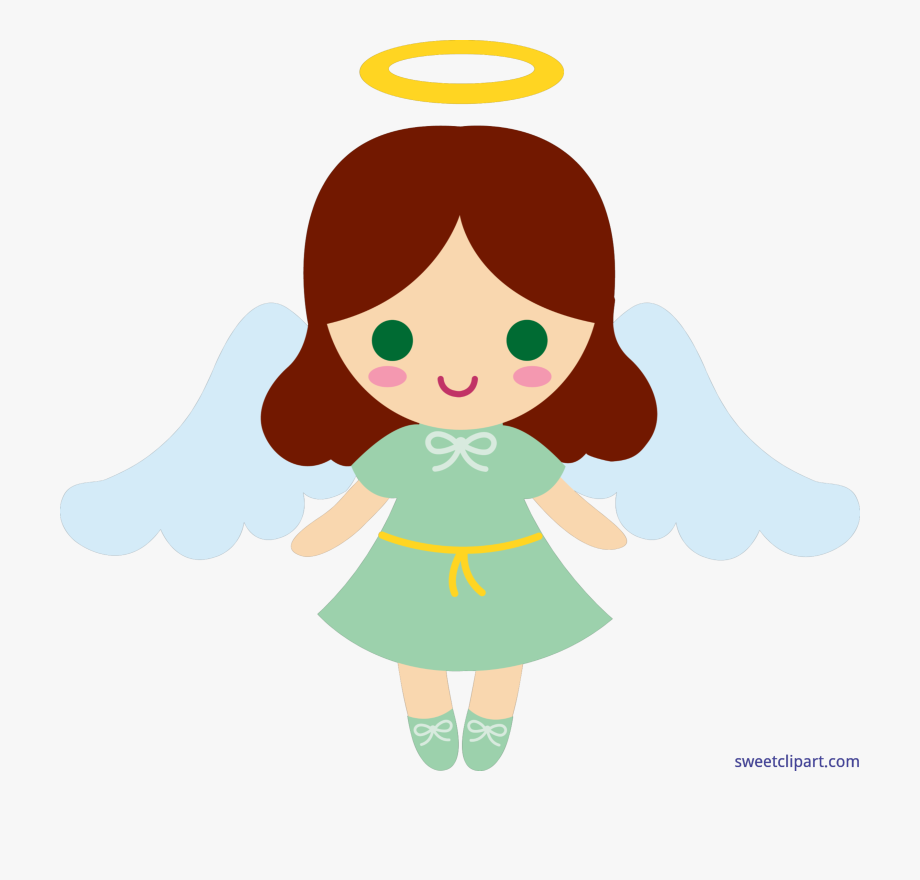 Banner Royalty Free Stock Little Angel Clip Art.