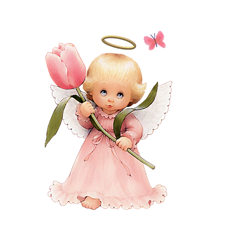 Cute Angel Clip Art.
