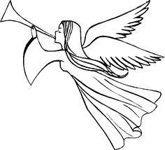 Line Drawing Angel at GetDrawings.com.