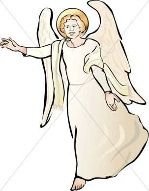 Clipart of Angel.