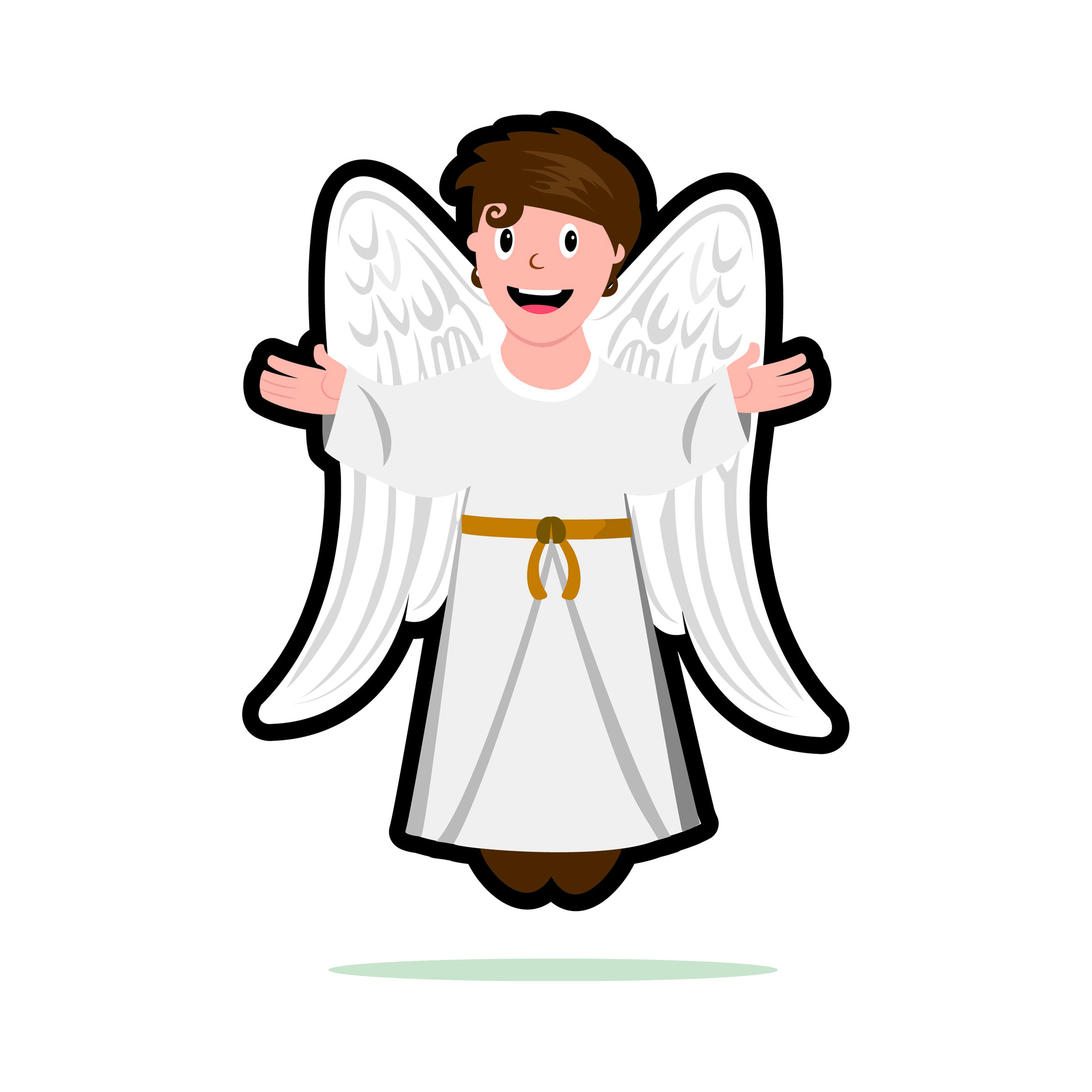 Clipart Angel Gabriel.