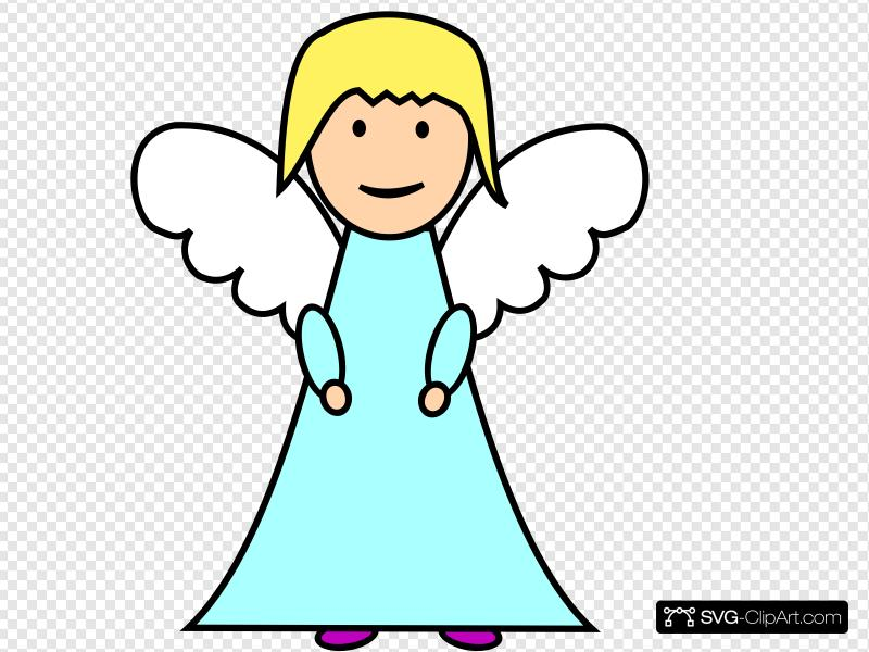 Angel Clip art, Icon and SVG.
