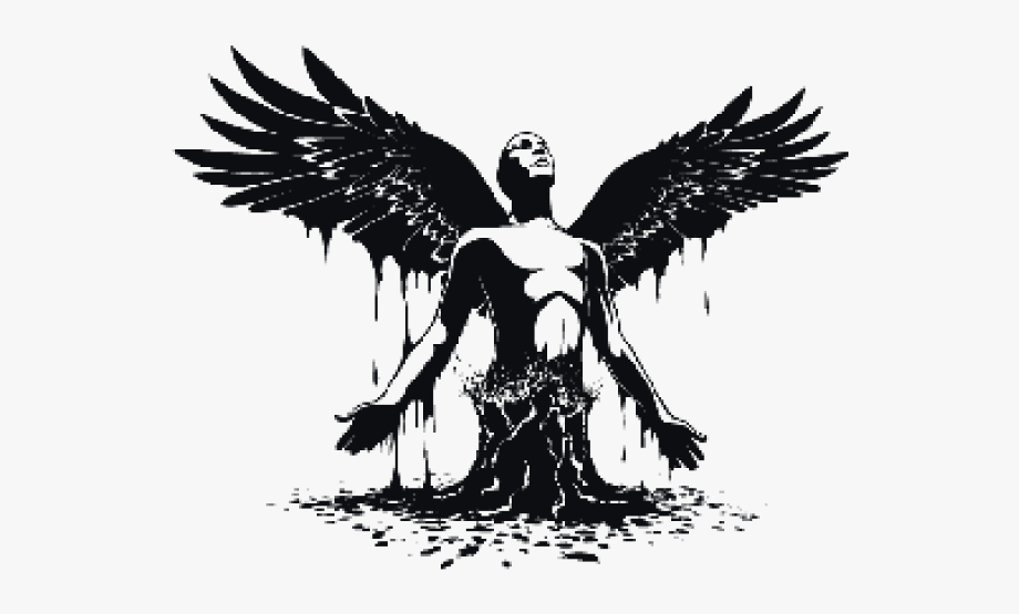 Fallen Angel Clipart Man Angel.