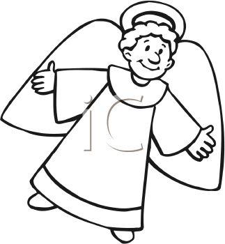 An Angel Clipart.