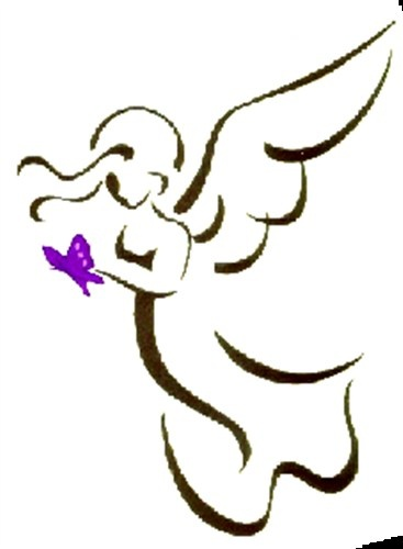 Free Angel Outlines, Download Free Clip Art, Free Clip Art.