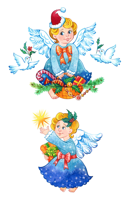 Christmas angel clipart, angel clipart, angel printable.