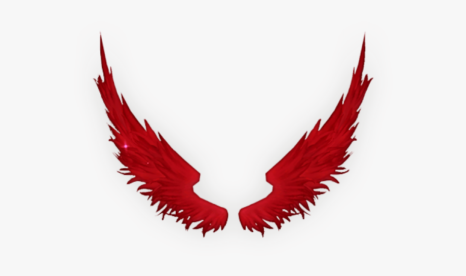 Fallen Angel Clipart Colored Angel Wing.