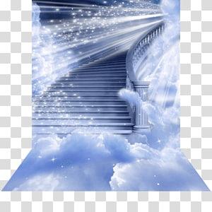 Heaven Staircases Angel Haiku Stairs God, angel transparent.