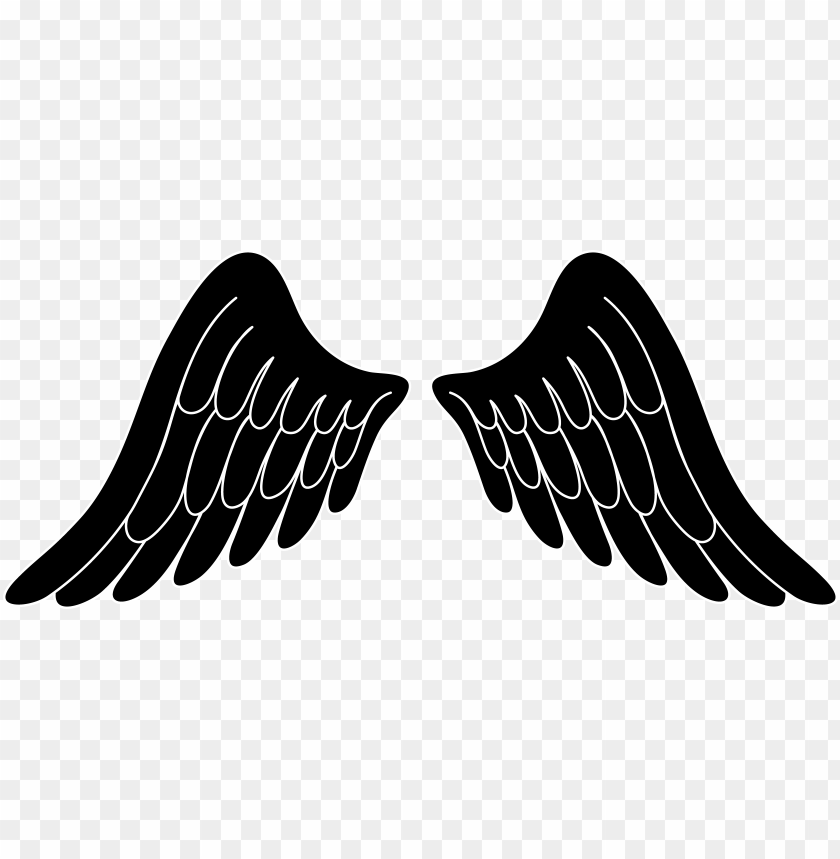 svg transparent stock angel clip art free of wings.