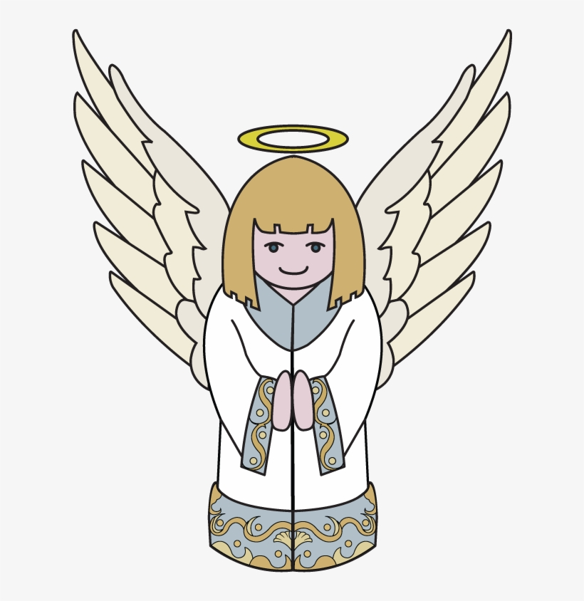 28 Collection Of Christmas Angel Clipart Images.