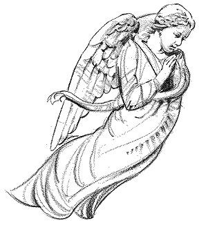 A Small Angel Clipart.
