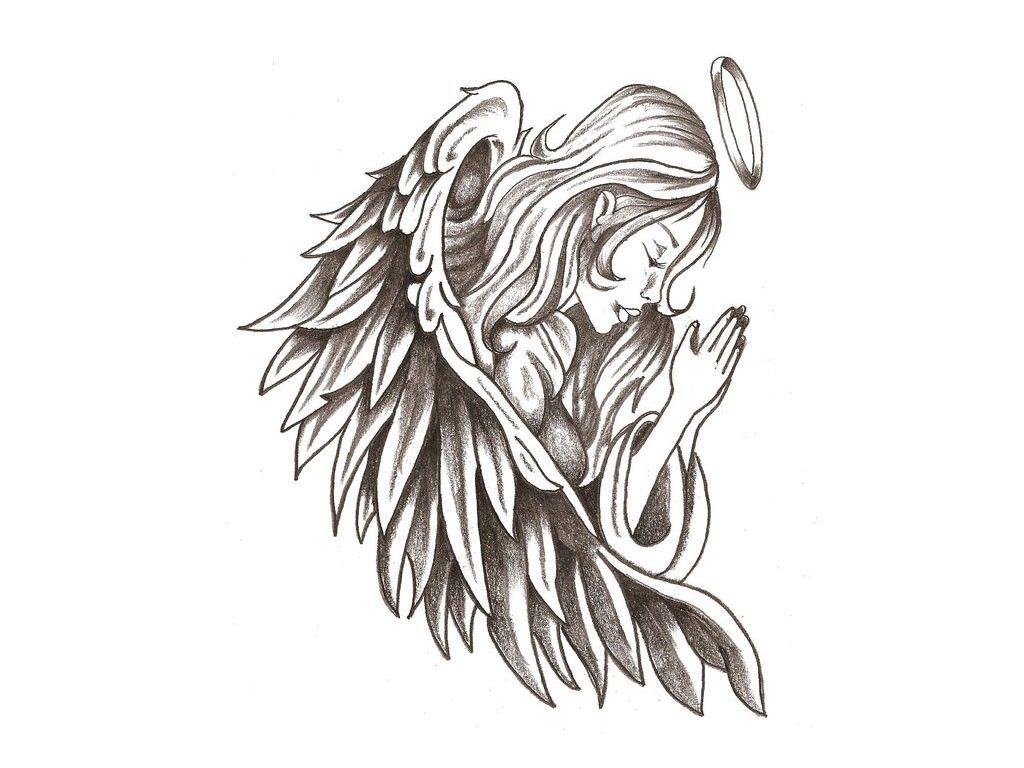 Free Angel Tattoos Clipart, Download Free #507902.