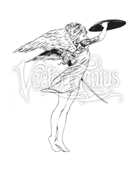 Warrior Angel ClipArt.