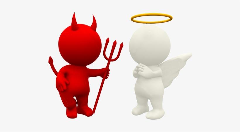 Angel Devil Clipart & Clip Art Images #27815.