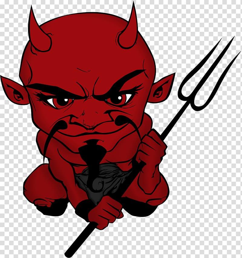 Devil Satan Demon, Devil transparent background PNG clipart.