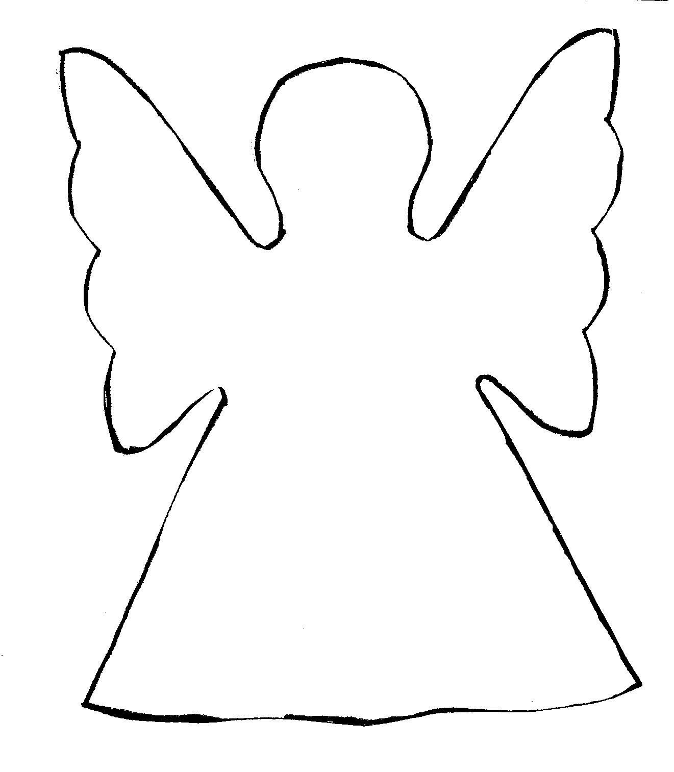 Free Angel Line Drawing, Download Free Clip Art, Free Clip.
