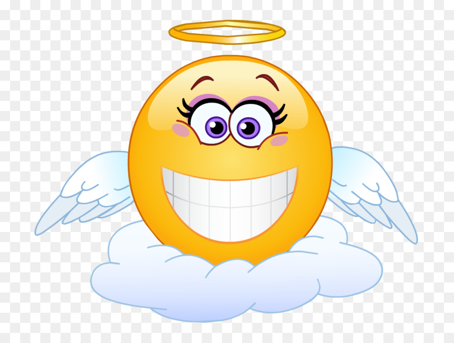 Angel Emoji clipart.