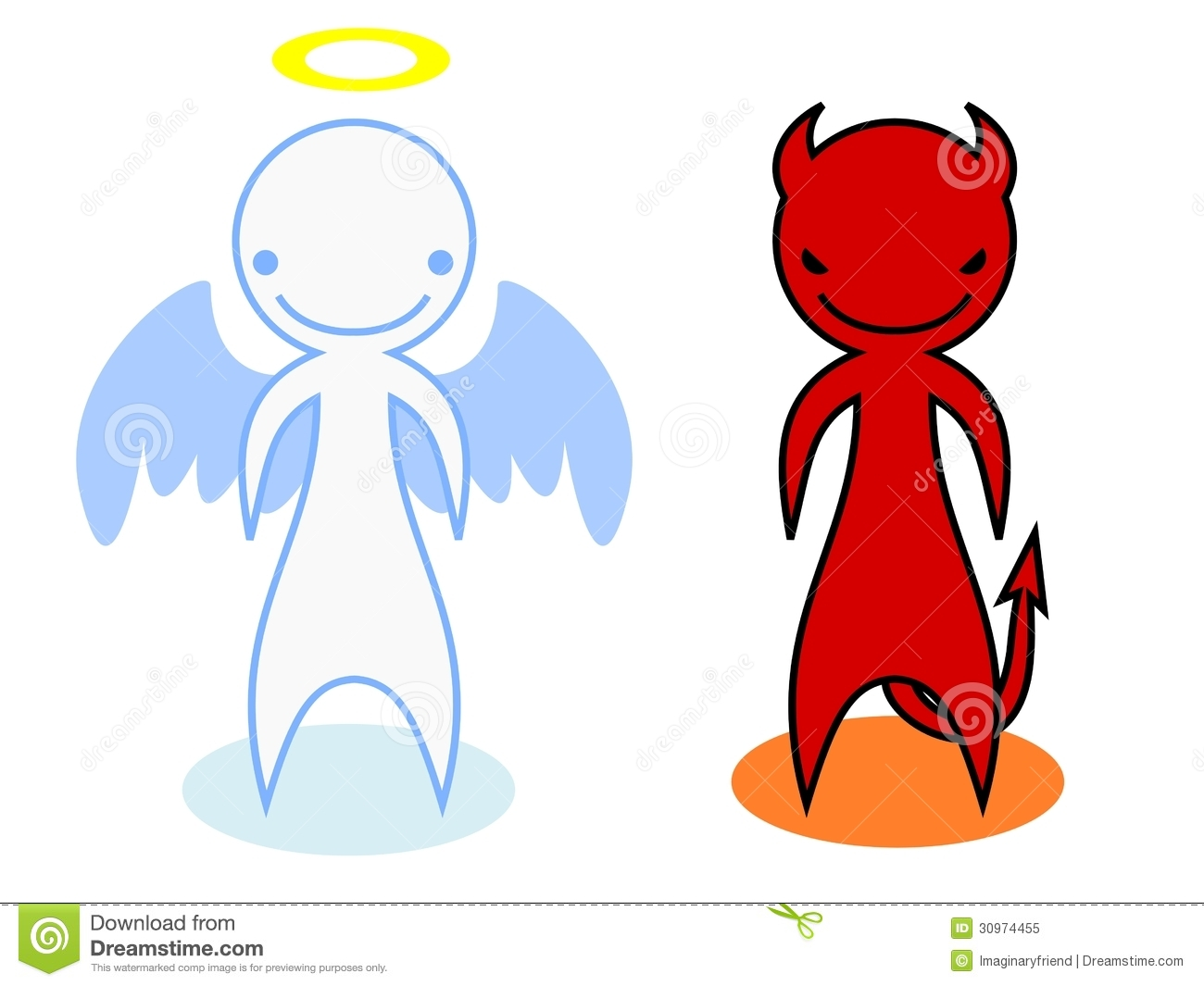 11576 Angel free clipart.