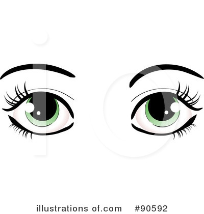 Angel eyes clipart.