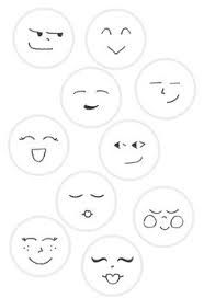 Image result for cartoon angel faces how to draw.
