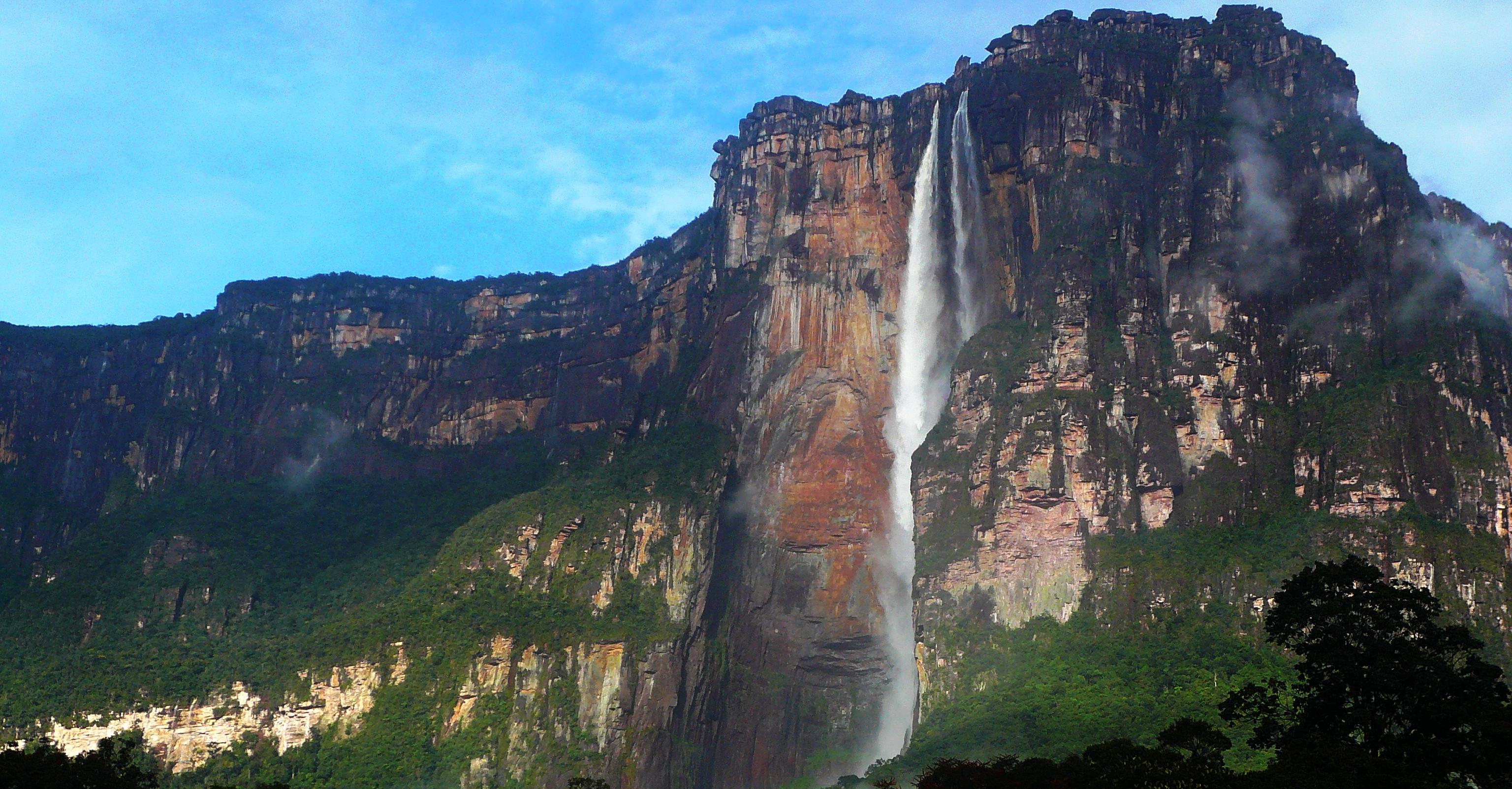 Salto Ángel (Angel Falls), Venezuela 2019.