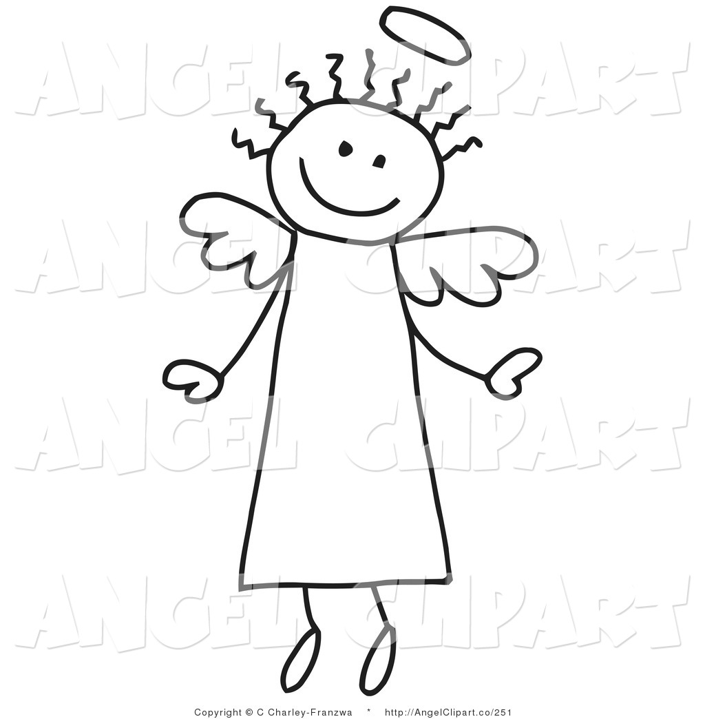 Angel figure clipart - Clipground