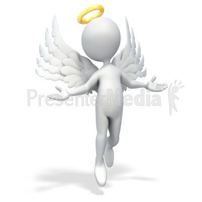 Angel Figure.