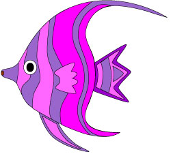 Angel fish clipart free clipart images.