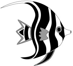 Angel Fish Clipart.