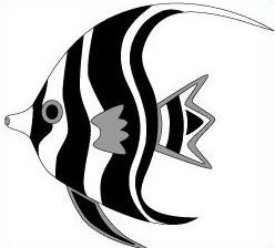 Free Angel fish Clipart.