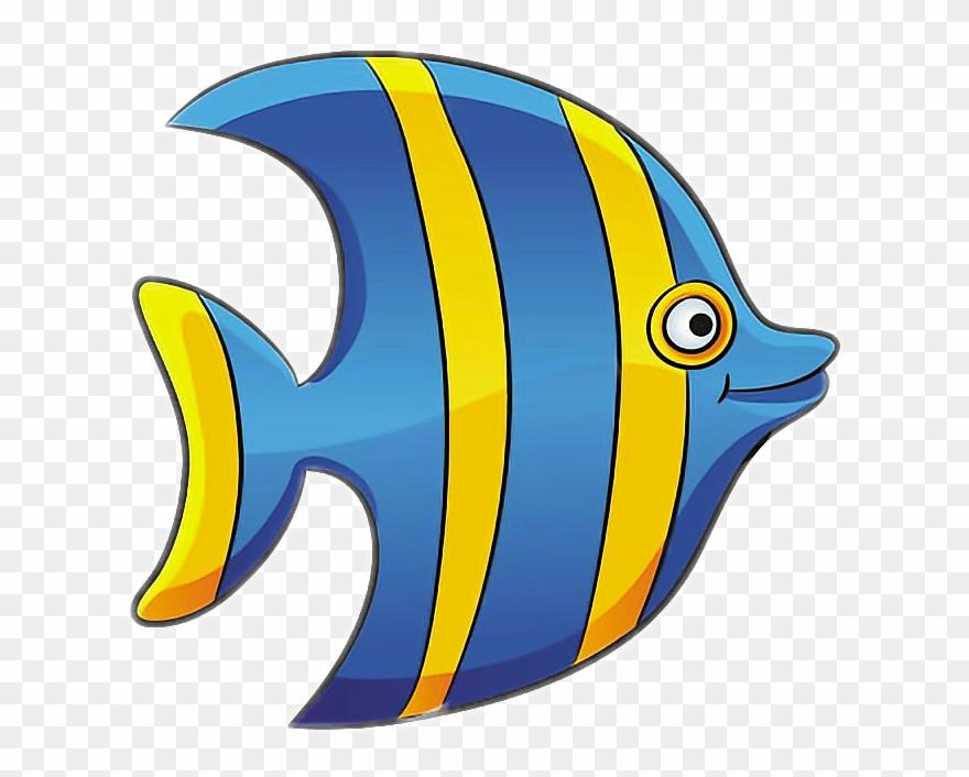 Angelfish Clipart Bright Fish.