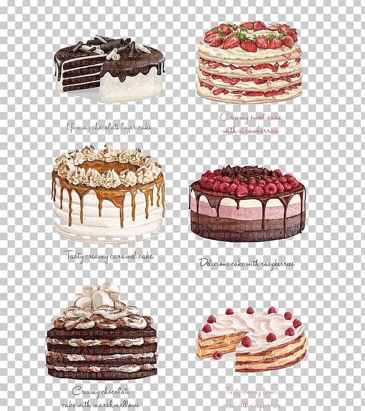 Chocolate Cake Strawberry Cake Torte Angel Food Cake PNG, Clipart.