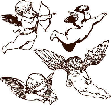 Free angel vector free vector download (372 Free vector) for.