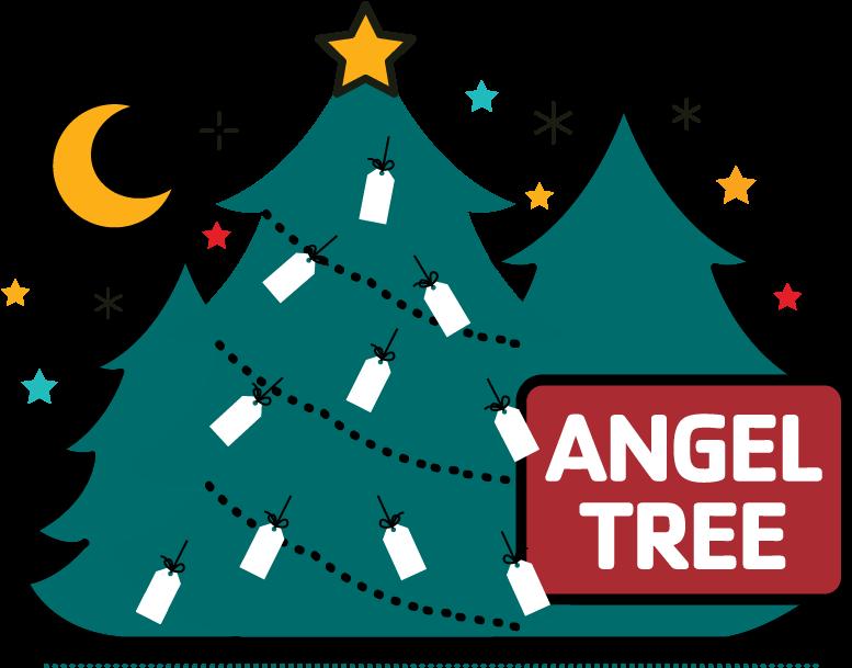 Angel Tree Clipart.