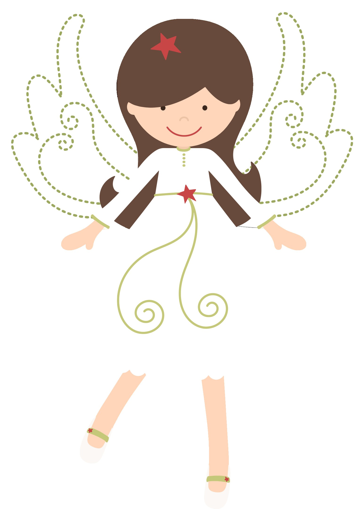 For Clipart Cartoon Angel Girl.