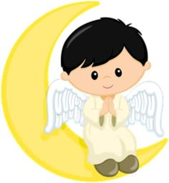Boy And Girl Angel Clipart.
