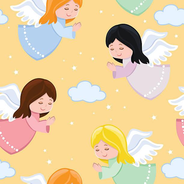 Best Baby Angel Illustrations, Royalty.