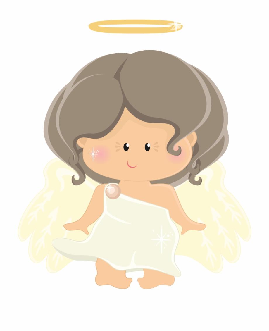 Angel Clipart Brown Hair.