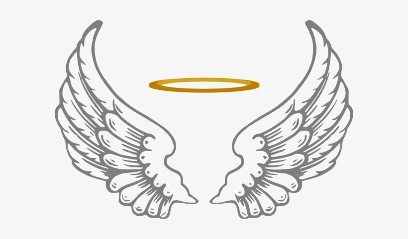 Clipart Download Halo With Wings Clip Art At Clker.