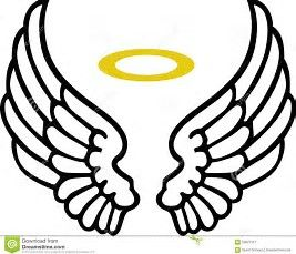 Free Angel Wing Clipart.
