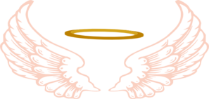 Angel Halo With Wings Clip Art at Clker.com.