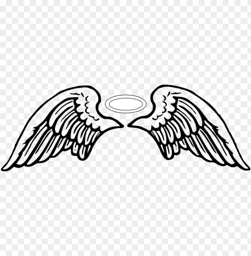 angel halo wing png.