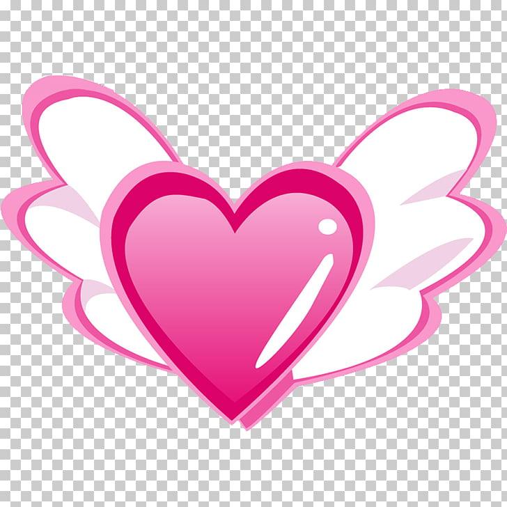 Heart Euclidean , Angel Heart PNG clipart.