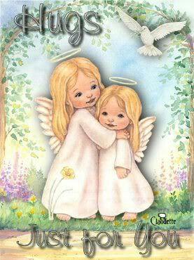 Angel hugs.