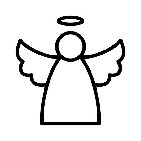 11615 Angel free clipart.