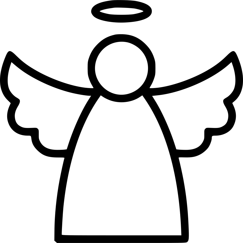 Angel Line Svg Png Icon Free Download (#557167).